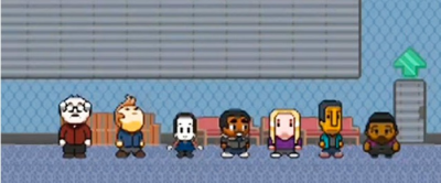 "laughspin:   Download the new 8-bit 'Community' video game inspired by the show's finale  So, this shouldn't be too surprising — someone on Reddit actually made the video game, Journey To the Center Of Hawkthorne, from the Community episode finale ""Digital Estate Planning."" Sure, it was only a matter of time, but it's pretty impressive that the turnaround was this quick."