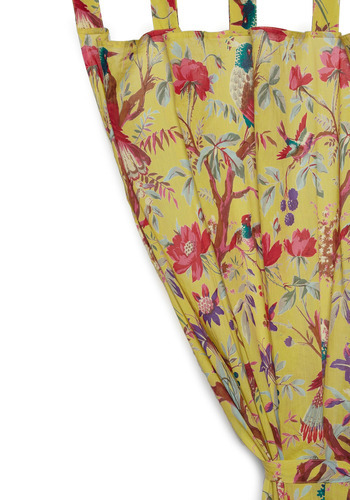 Shop the Flora and Fauna and Fabulous Curtain.