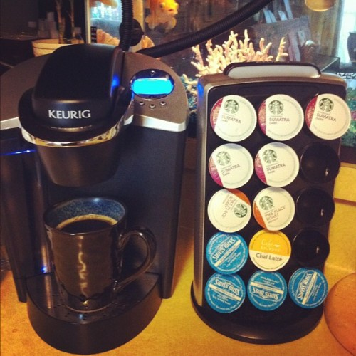 I love this #keurig ! Wish I had my own! #keurig #coffee #coffeeaddict #cupofjoe  (Taken with instagram)