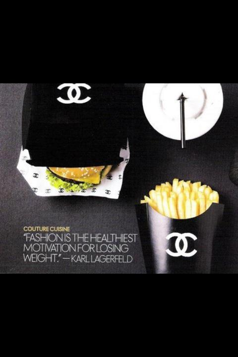 if chanel made food lol
