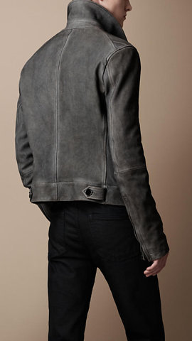 Burberry - CALF SUEDE FLIGHT JACKET