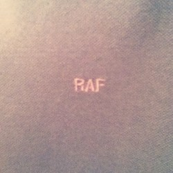 Is #raf by #rafsimmons considered vintage? Anyway, it's w.i.w.t (Taken with instagram)