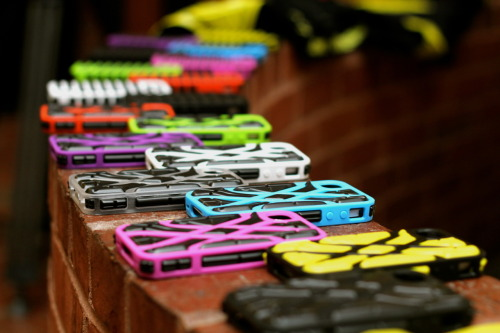 emgeemann:  G-Form iPhone Cases. Tasty. Photo by Mike Girard.