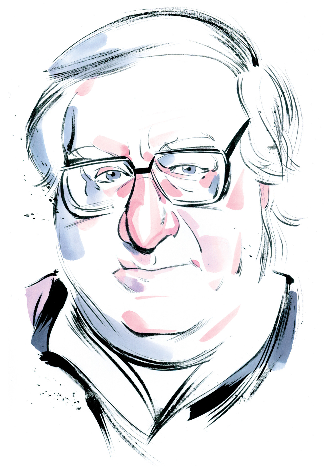 nparts:  R.I.P. Ray Bradbury Artist Kagan McLeod's beautiful portrait of the late author.