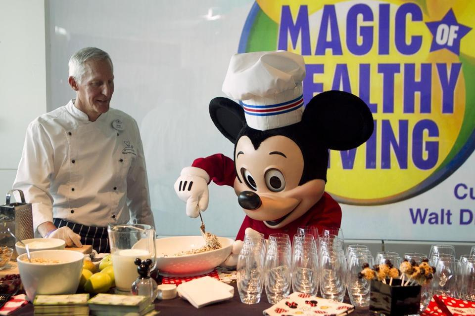 Disney will ban junk-food ads that target children  Walt Disney Co. became the first major media company to ban junk food ads from its TV channels, radio stations, and websites intended for children.