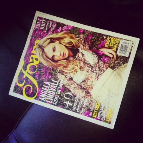 My other favorite magazine:) (Taken with instagram)