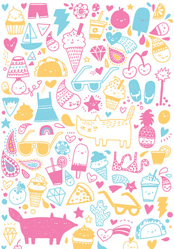 Perfect doodles. I love this pattern. http://weheartit.com/entry/711779