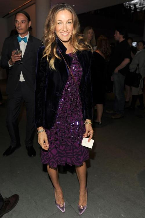Sarah Jessica Parker at the Gordon Parks party, June 2012