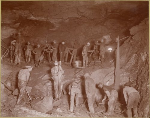 Construction of the NYC Subway, c. 1901-1905