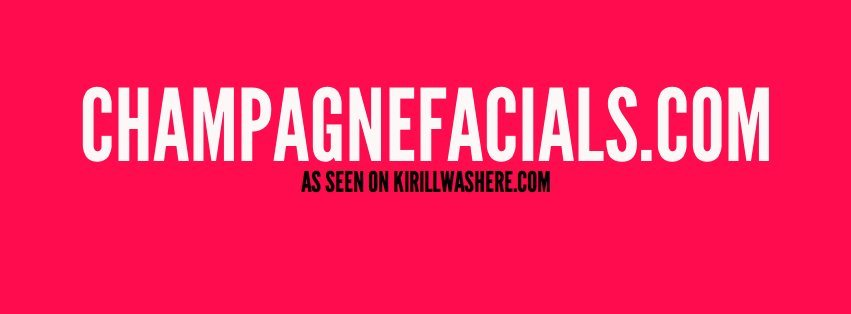 I'M SHUTTING THIS TUMBLR DOWN.FOLLOW MY NEW PROJECT.CHAMPAGNE FACIALS!