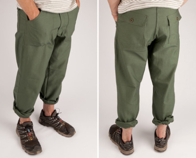Earl's Apparel Fatigue Pants.