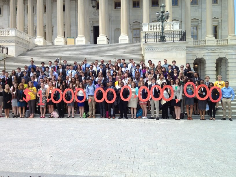 Rock the Vote at Student Debt Day. Student debt has reached 1 trillion. There is less than a month left for Congress to pass a bill preventing student loan interest rates from doubling.