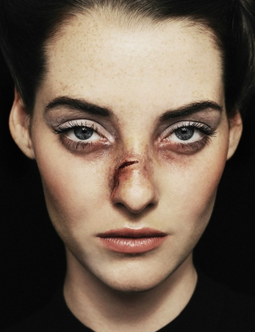 petrole:  victim of beauty, by vassil germanov for 12 magazine 2012