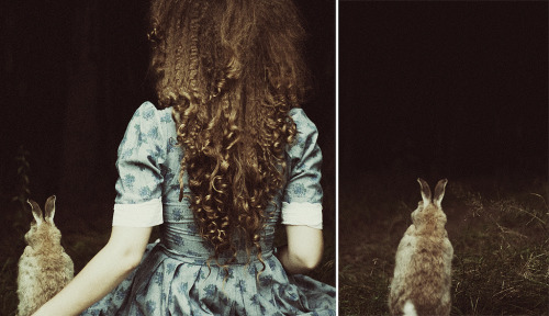 fragile-whispers:  Alice in Wonderland. (by laura makabresku)