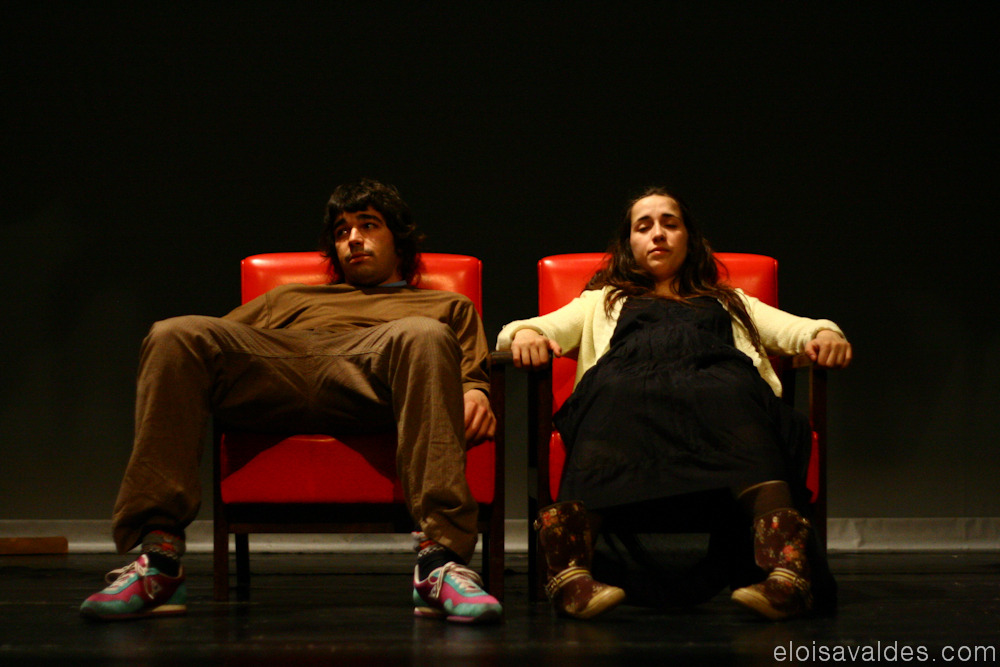 Photography from 2008 in Ourense during rehearsals of Avarento de Molière. Last one from rehearsals. Next sets will be from the play itself.