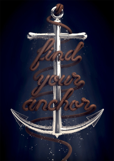 typeverything:  Typeverything.com - Find Your Anchor by David McLeod.