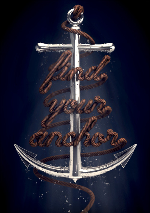 Typeverything.com - Find Your Anchor by David McLeod.