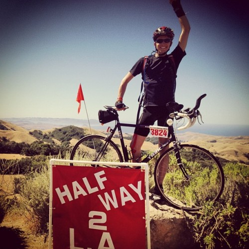 Here I come! 🚲 #halfway there! #LA #bound - #alc11  (Taken with instagram)