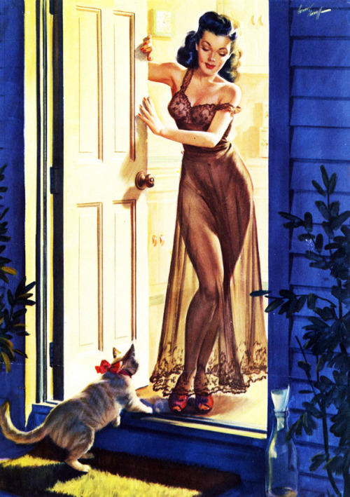 Illustration by Arthur Sarnoff c. 1950's