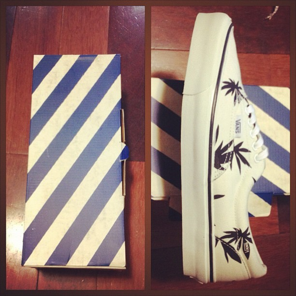 Finally came in. 🌴 #vans #nyc #sneakers (Taken with instagram)