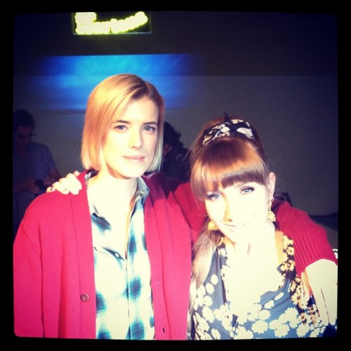 #AgynessDeyn & Alexis Knox hosting the #drmartens collaboration launch (Taken with instagram)