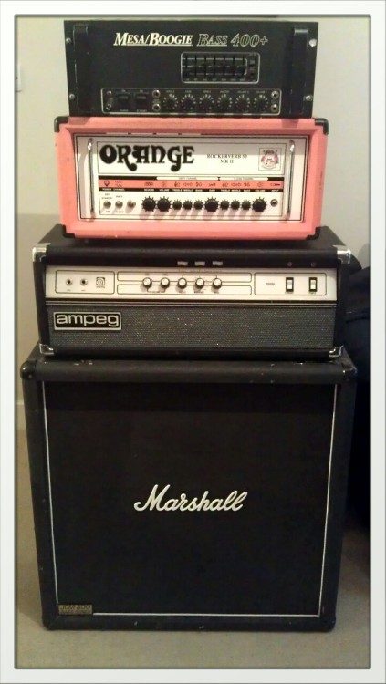 fuckyeahampworship:  fire—walk—with—me:  My tone mountain.   Cabinets to be added.  www.facebook.com/preludetothehunt