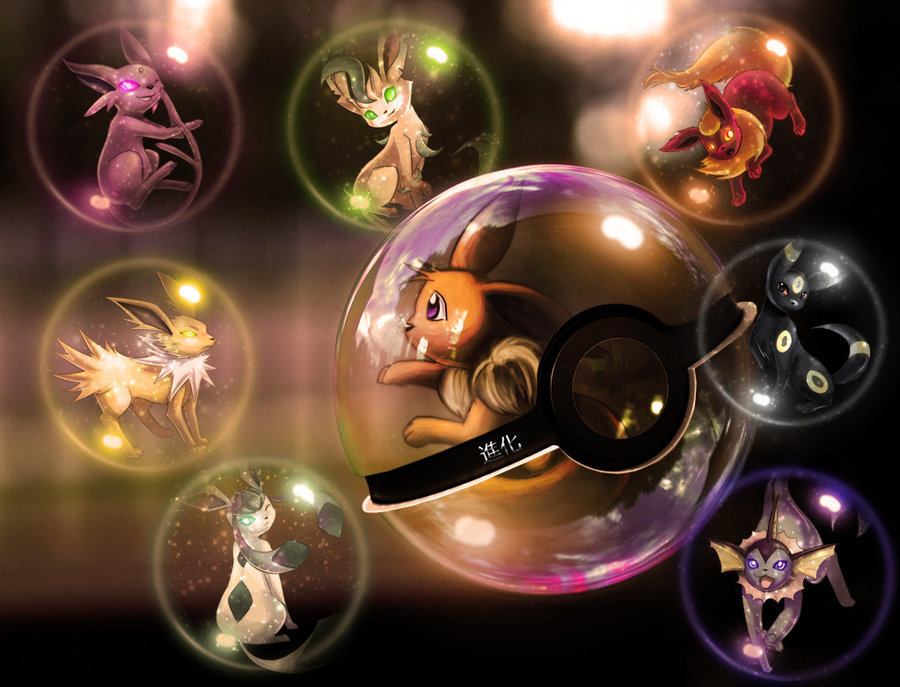Eeveelutions Pokeball 2 by *wazzy88