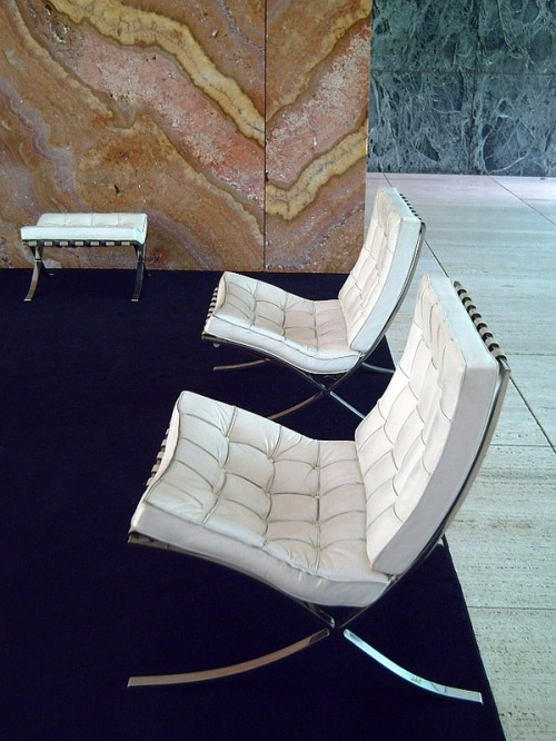 inandoutinandout:  mies van der rohe - those walls!!!