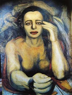 Portrait of Angelica - David Alfaro Siqueiros 1947