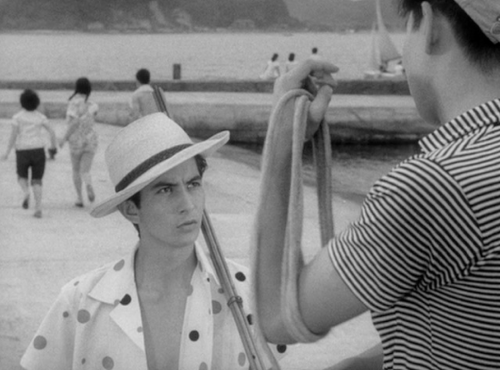 Ko Nakahira's Crazed Fruit (1956) has hands-down some of the best men's fashion in film, in my humble opinion.