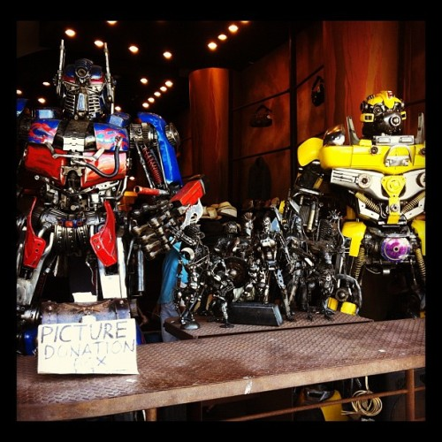 #transformers (Taken with Instagram at Venice Beach Graffiti Spot)