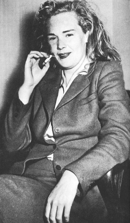 updownsmilefrown:  Frances Farmer after being arrested, 1943 read more about her life