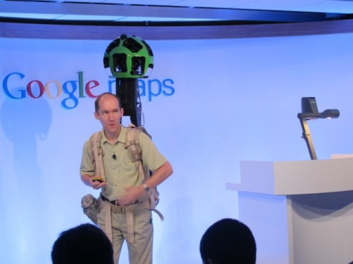 "Google Reveals an Image-Capturing Backpack and New 3D Maps  Google's Maps team introduced three new technologies on Wednesday: a feature to save offline maps in the Android Maps app, advanced 3D models of entire cities in Google Earth, and a new Android-controlled ""Street View Trekker"" backpack for capturing Street View images where bikes, cars and planes can't go."