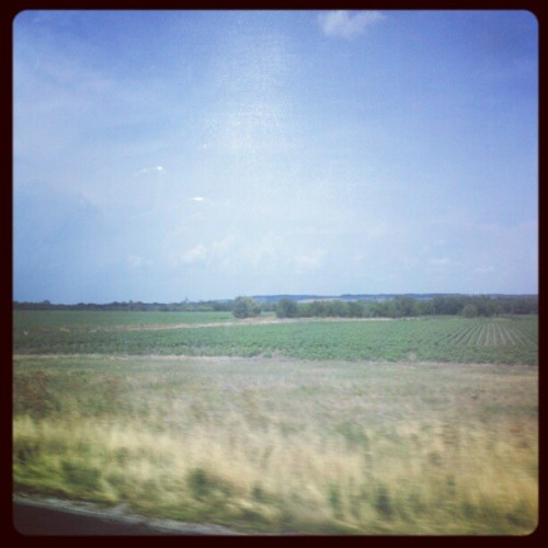 Texas Country … nearing Ft. Worth #Texas #country #hills  (Taken with instagram)