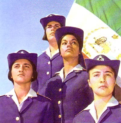 Iranian Female Pilots, Before Revolution