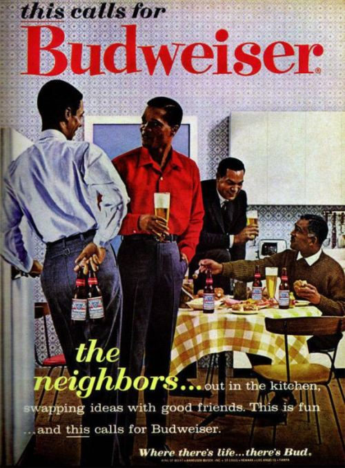 Where there's life… there's Budweiser