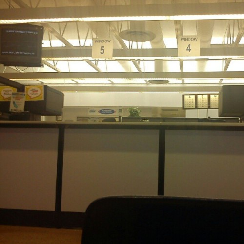 Dmv. -_- with @ericsteez  (Taken with instagram)