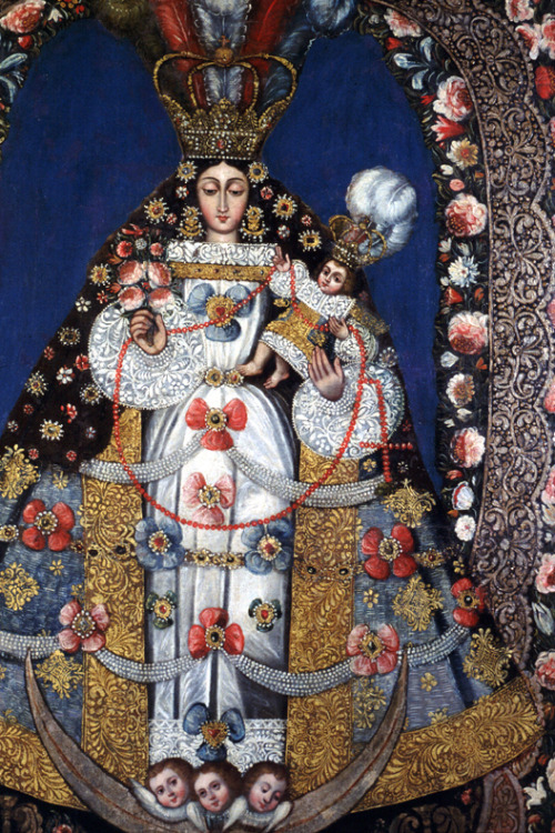 Artist Unknown (Bolivian, late 18th century), The Virgin of the Rosary , late 18th century  Joslyn Art Museum