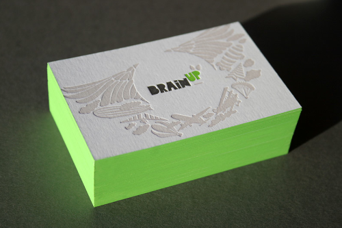 designpile:  Brainup Business Cards