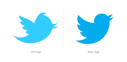 Larry, the Twitter bird, gets a makeover.