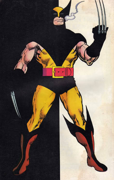 demonsee:  Wolverine by John Byrne  How I feel before I file down my nails.