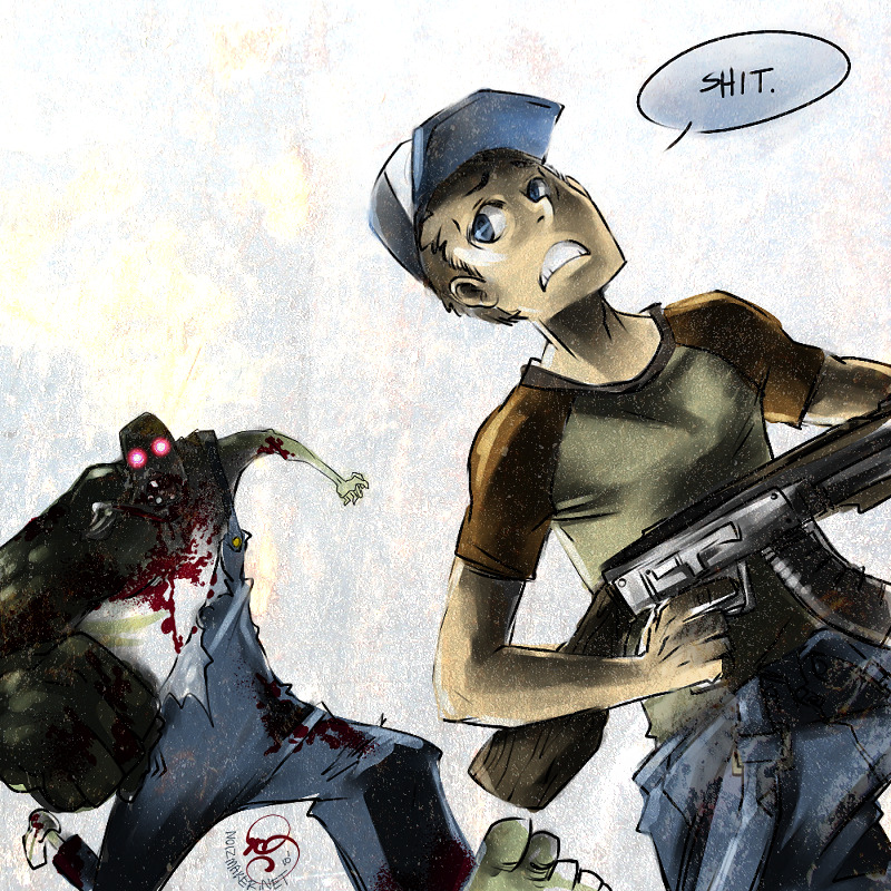 Left 4 Dead: RUN ELLIS by ~karniz