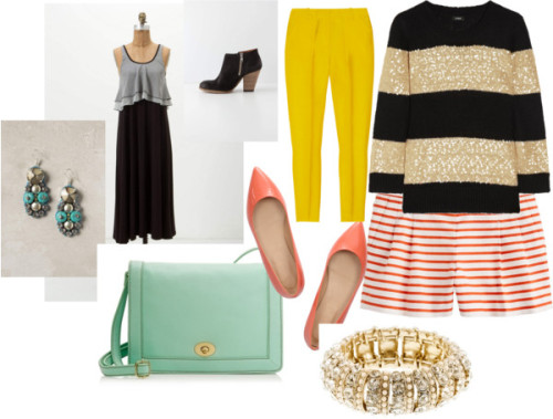 Summer Wish List by hart5751 featuring clutch handbagsTank dress, $168J Crew crew shirt, £78J.Crew highwaisted pants, $260J.Crew nautical shorts, $65Leather bootie, $298J Crew pointy toe flat, $190J Crew clutch handbag, $148Rhinestone cluster earrings, $58J Crew crystal bangle, $40