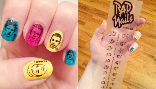 """Hot Man-icure"" de Rad Nails ou la perfection putain"