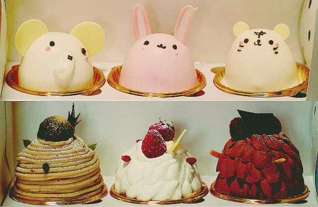 uteki:  Animal cakes (by Takashi(aes256))