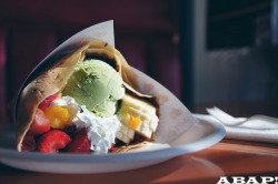 Dessert Crepe - Crepe Luv, Alhambra, CA by AsBallinAsPossible! on Flickr.