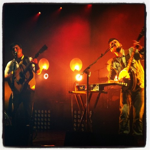 micklindsay11:  Mumford and sons (Taken with instagram)