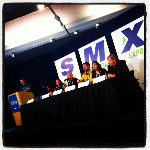 Ask The SEOs panel at SMX Advanced in Seattle #smx (Taken with instagram)