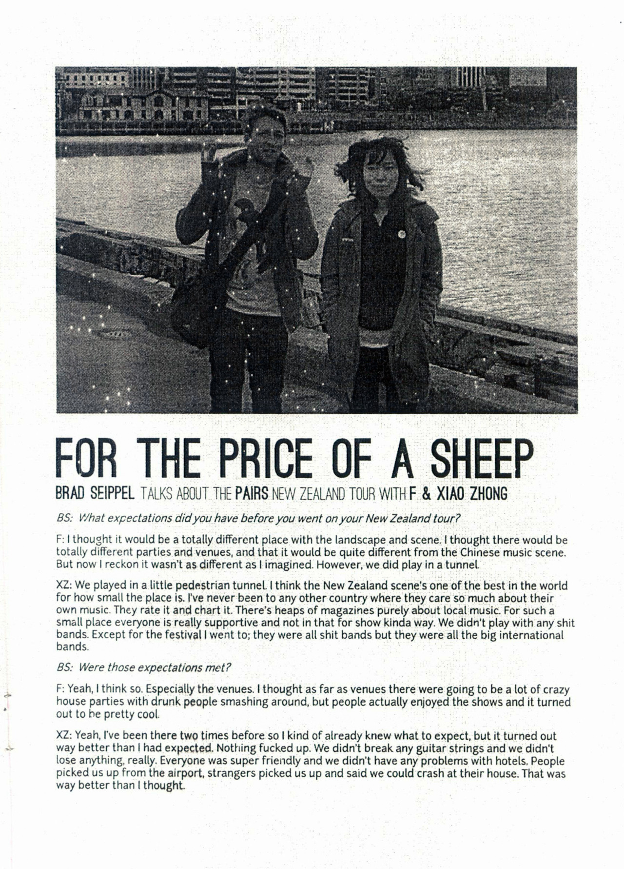 [[MORE]]   interview with Shanghai's PAIRS from issue #3 of the JINGWEIR zine, scans of issues 1-3 are all available for free download in PDF http://jingweir.tumblr.com/zine