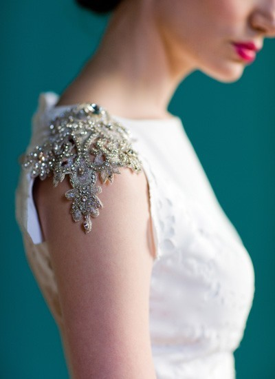 theweddingtree:  That sleeve!